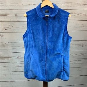 White Sierra Soft Faux Fur Zip Vest